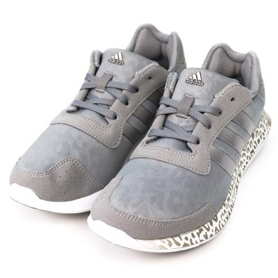 ADIDAS-ELEMENT女慢跑鞋-灰