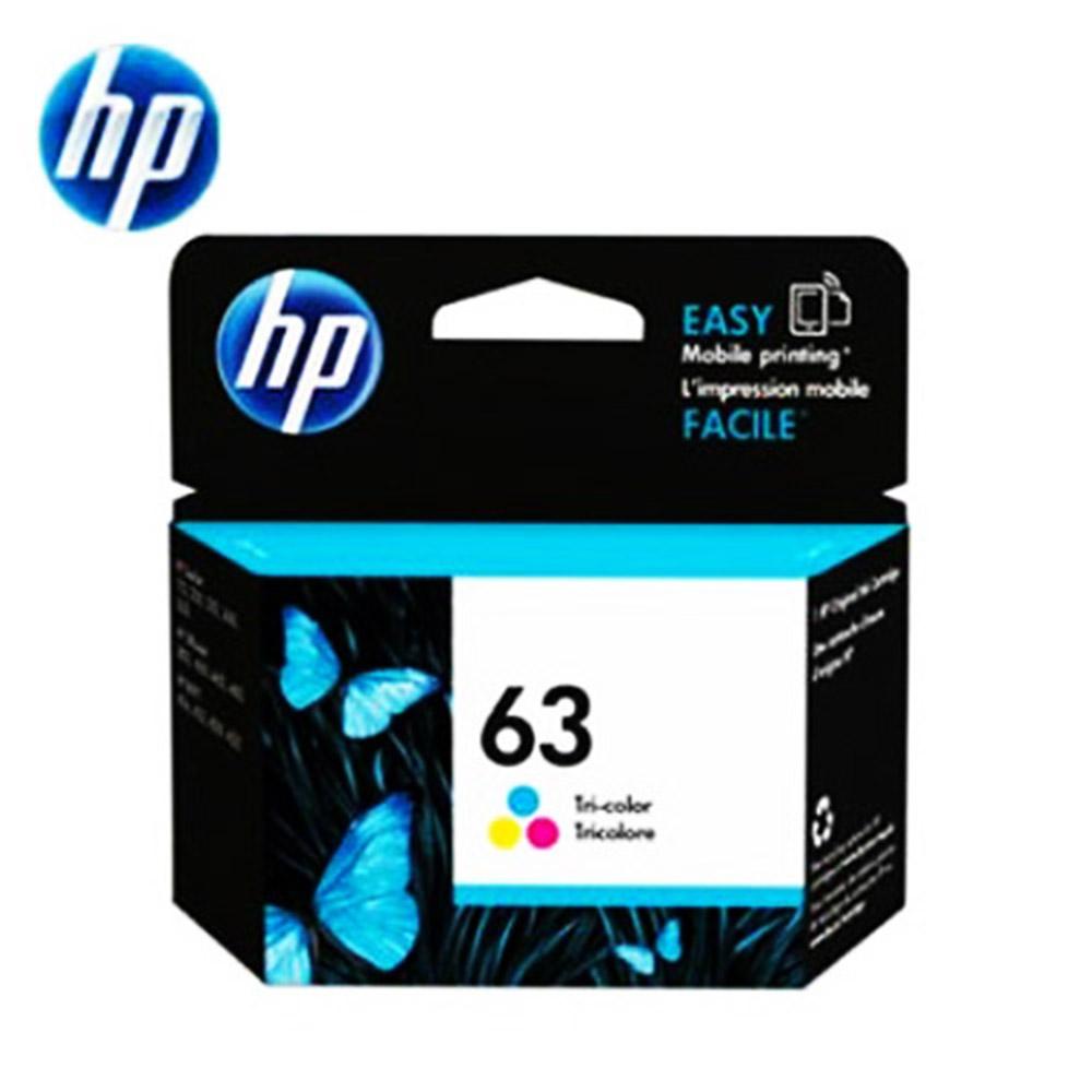 HP F6U61AA NO.63 原廠彩色墨水匣