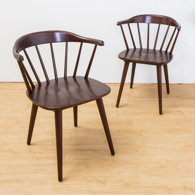 Boden-迪諾實木餐椅(四入組合)-55x54x75cm