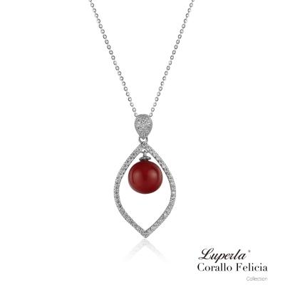 大東山珠寶-東方紅系列-開運珊瑚紅墬飾-瑰麗風華