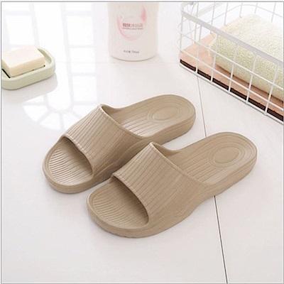 日創優品 38度Q加厚柔軟室內外拖鞋-淺可可28.5cm
