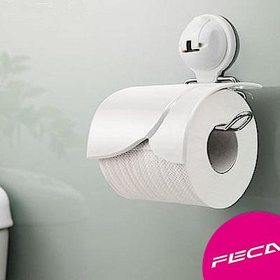 FECA非卡 伯爵捲筒式衛生紙架-白