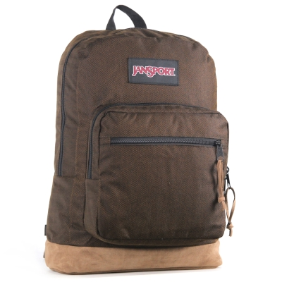 JanSport DIGITAL背包(RIGHT PACK)-深褐波型