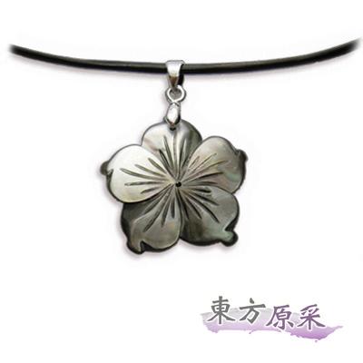 東方原采-自然系梅花貝殼項鍊