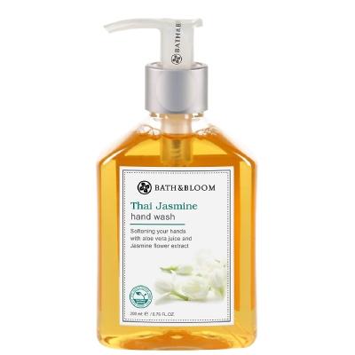 (8月任選)Bath & Bloom 泰國茉莉香氛潔手乳200ml