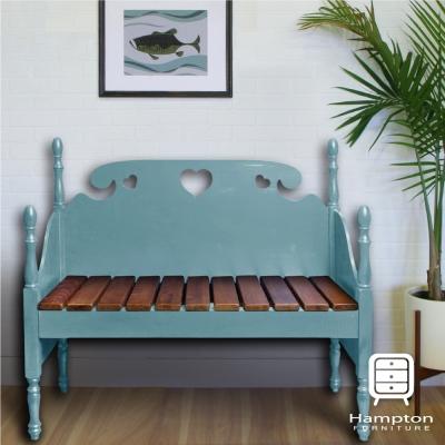 漢妮Hampton貝拉情人椅-休閒椅-戶外椅-淺藍