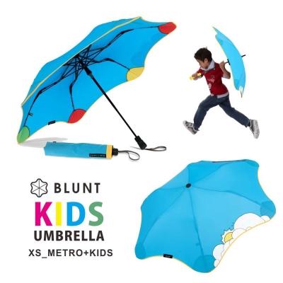 【紐西蘭BLUNT 保蘭特】可變色安全兒童傘 – 折傘 (風格藍)