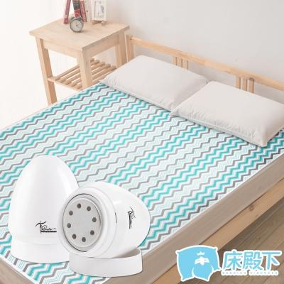 床殿下AIR 3D涼感超透氣機能床墊-雙人贈COTA寶貝嫩足去繭蛋