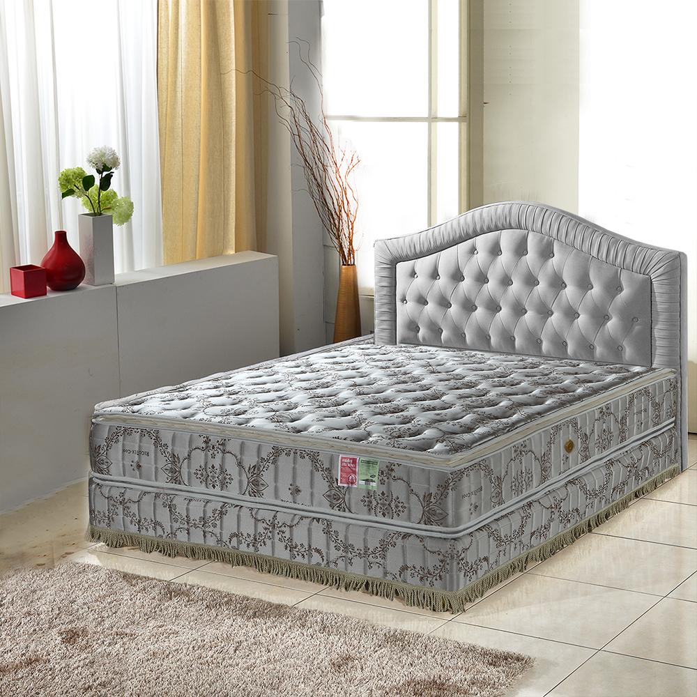 MG珍寶-正四線-超涼感-護邊蜂巢獨立筒床墊-單人3.5尺-側邊強化安心耐用