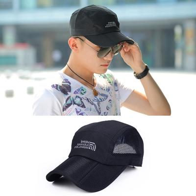 Seoul-Show-男女可摺疊運動遮陽棒球帽II-黑色