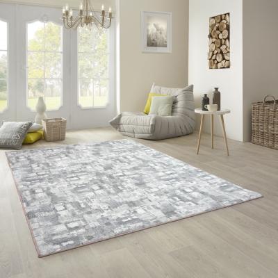 范登伯格 - 朝暘 進口地毯-渲染 - 淺灰 (中款-150 x 200cm)