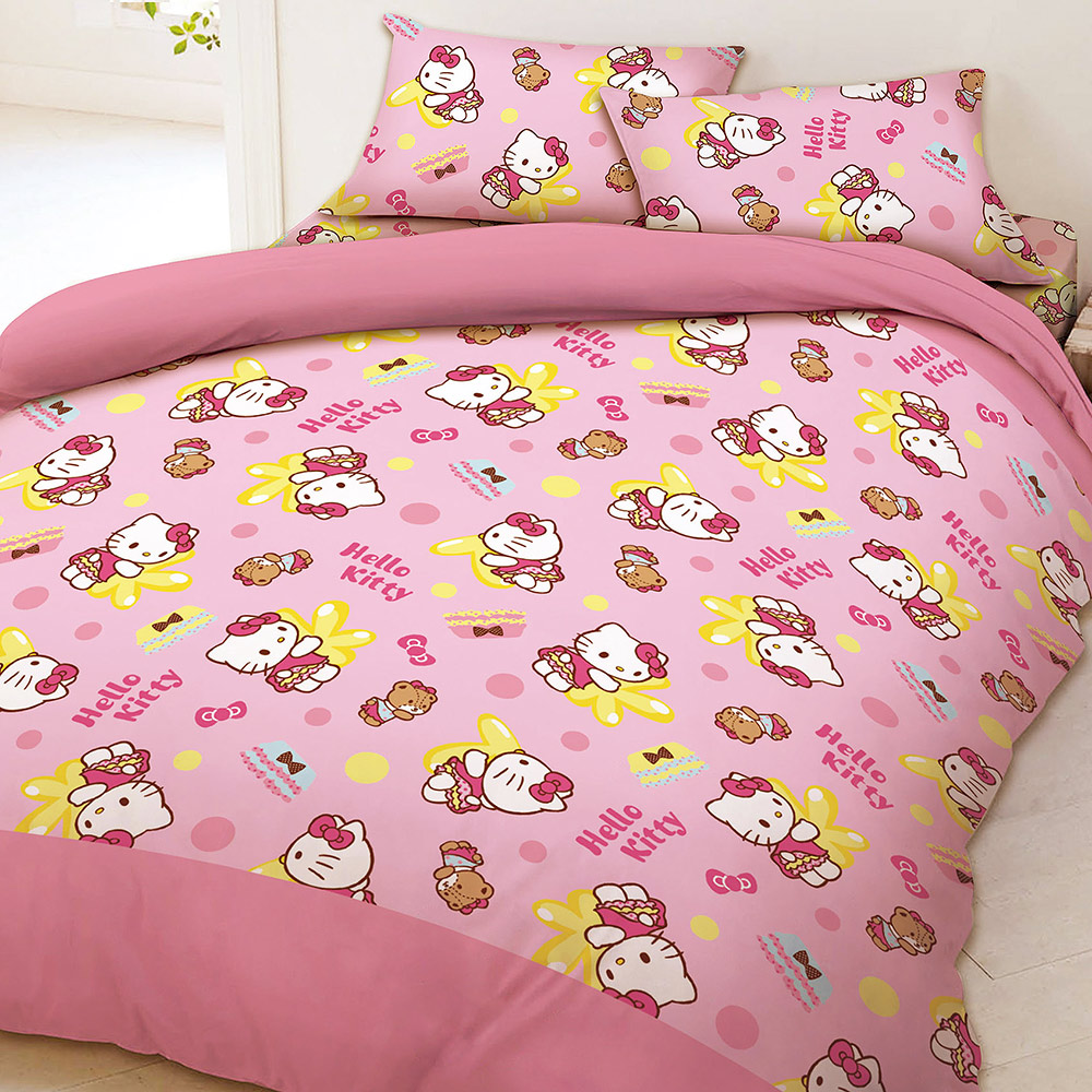 HELLO KITTY MY屁屁系列-單人薄被套 product image 1