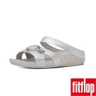 FitFlop TM-LUNA POP TM SLIDE-銀色