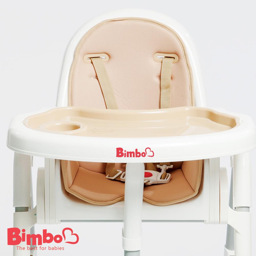 安全兒童餐椅 咖啡色 台灣製造【BIMBO】
