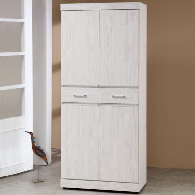 Homelike 安娜2.5x6尺鞋櫃-75x39x177cm