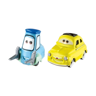 Cars 汽車總動員3-造型小汽車-LUIGI & GUIDO(3Y+)