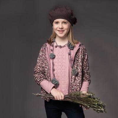 PIPPY 雙面穿印花外套 粉紅