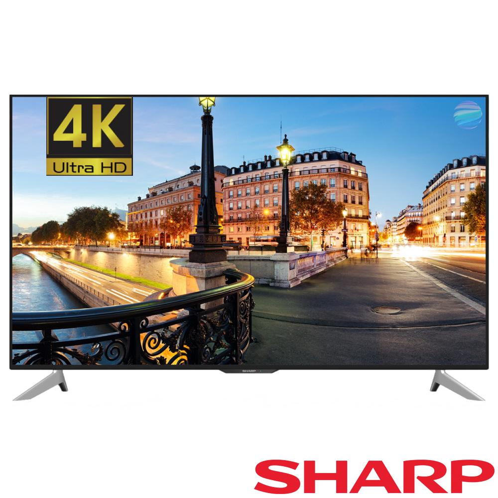 SHARP夏普50吋 4K 智能連網液晶電視 LC-50UA6800T