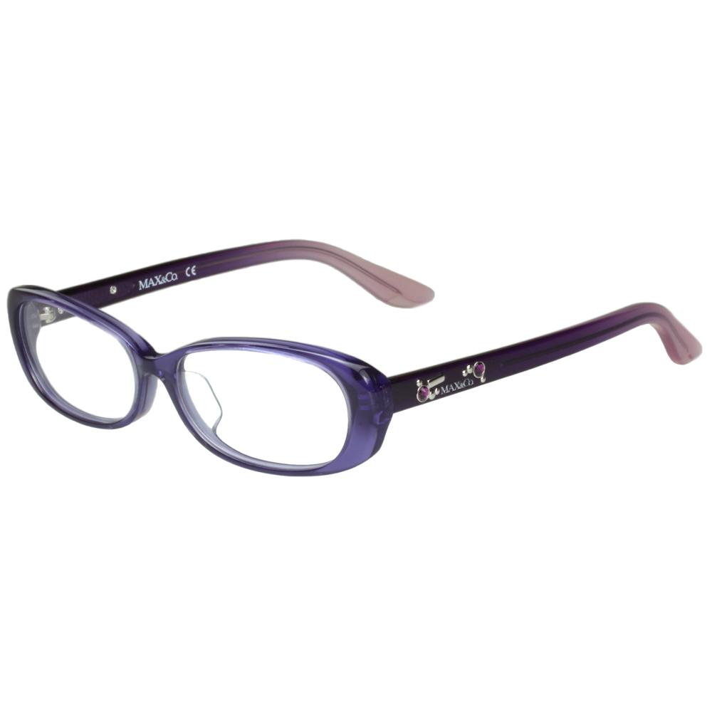 MAX&CO. 時尚光學眼鏡(紫色)