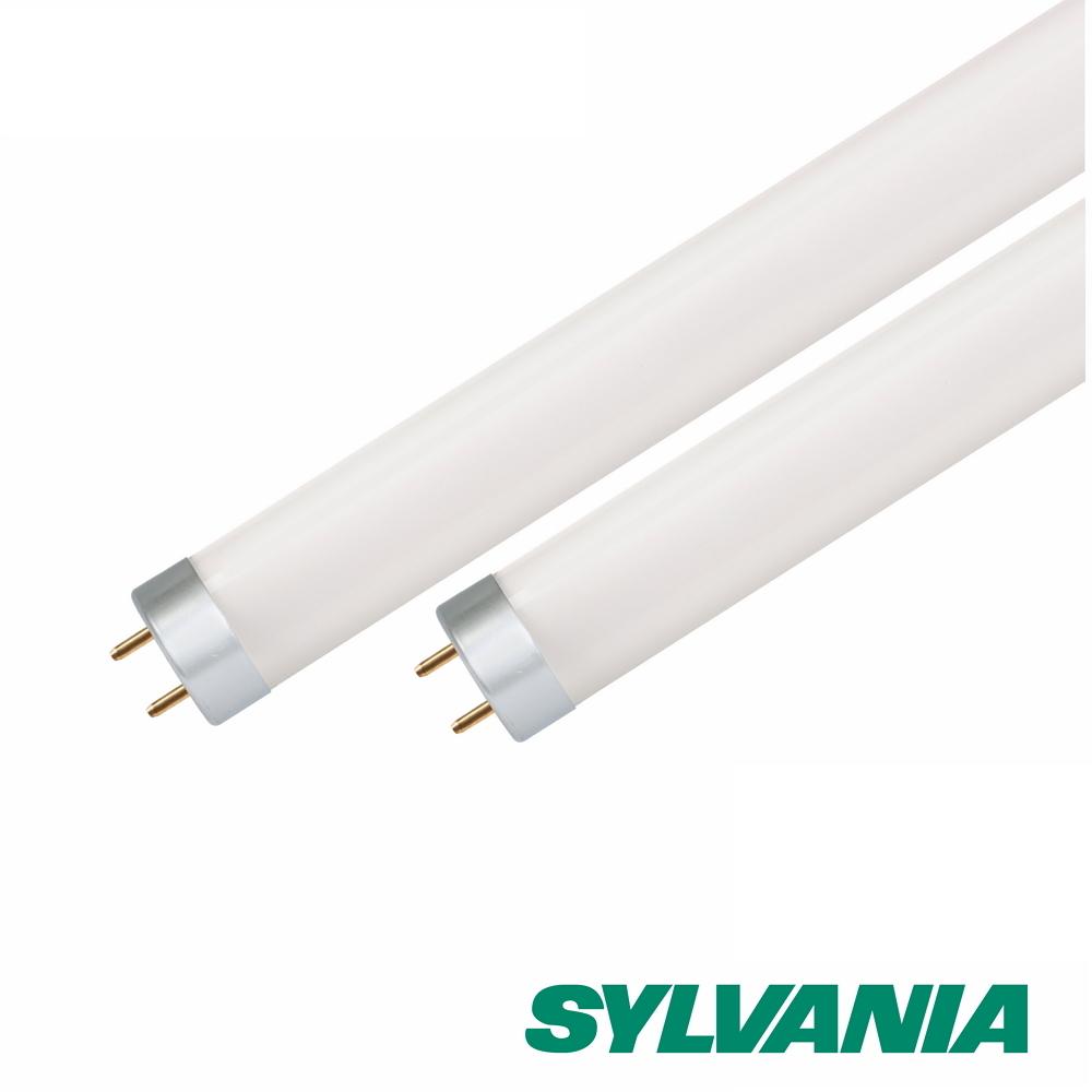 SYLVANIA喜萬年 T8 LED玻璃燈管2呎  8W 黃光3000K 4入