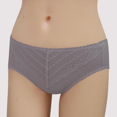 瑪登瑪朵 15AW無敵美G  中腰三角棉內褲(華貴紫)