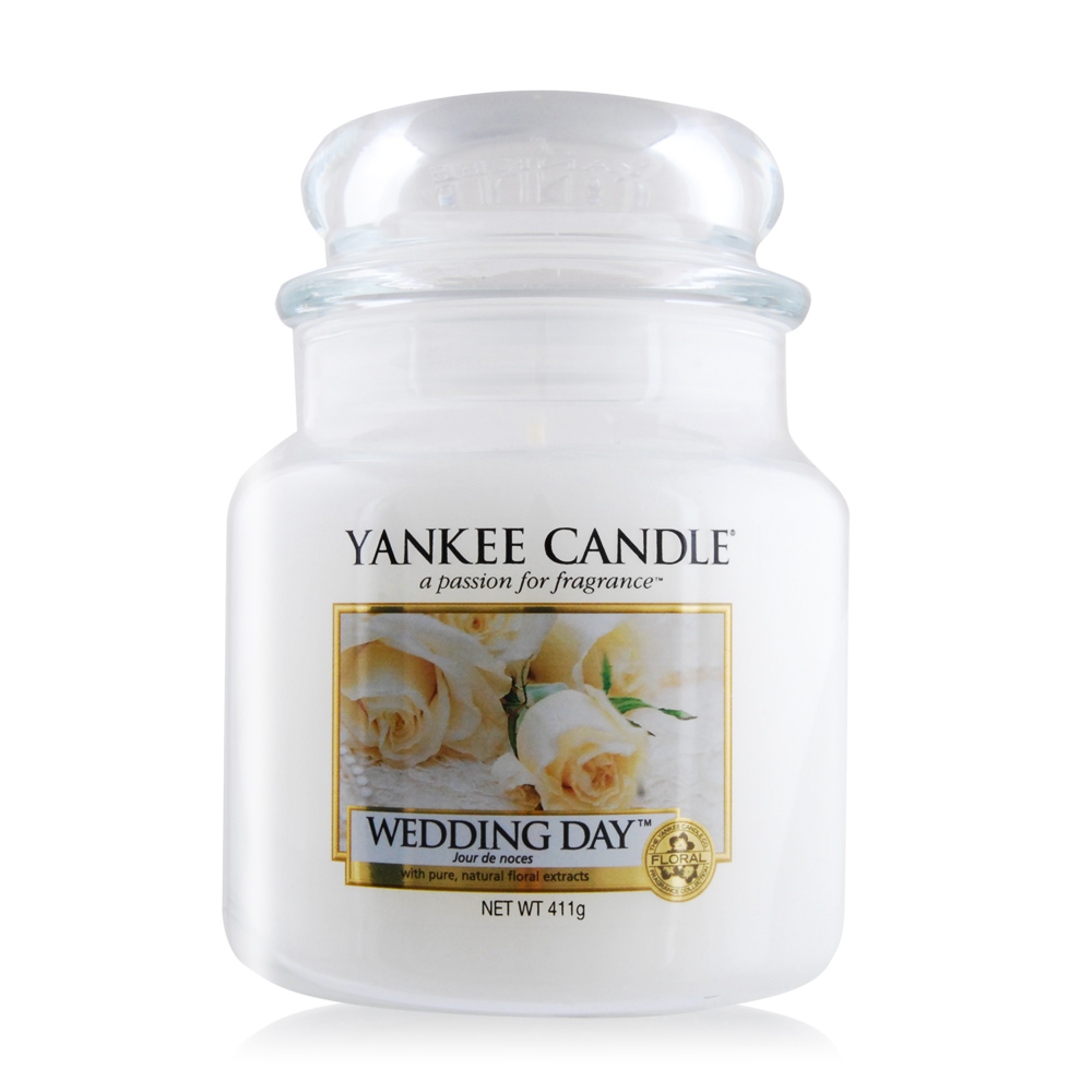 YANKEE CANDLE香氛蠟燭-婚禮的祝福 Wedding Day 411g