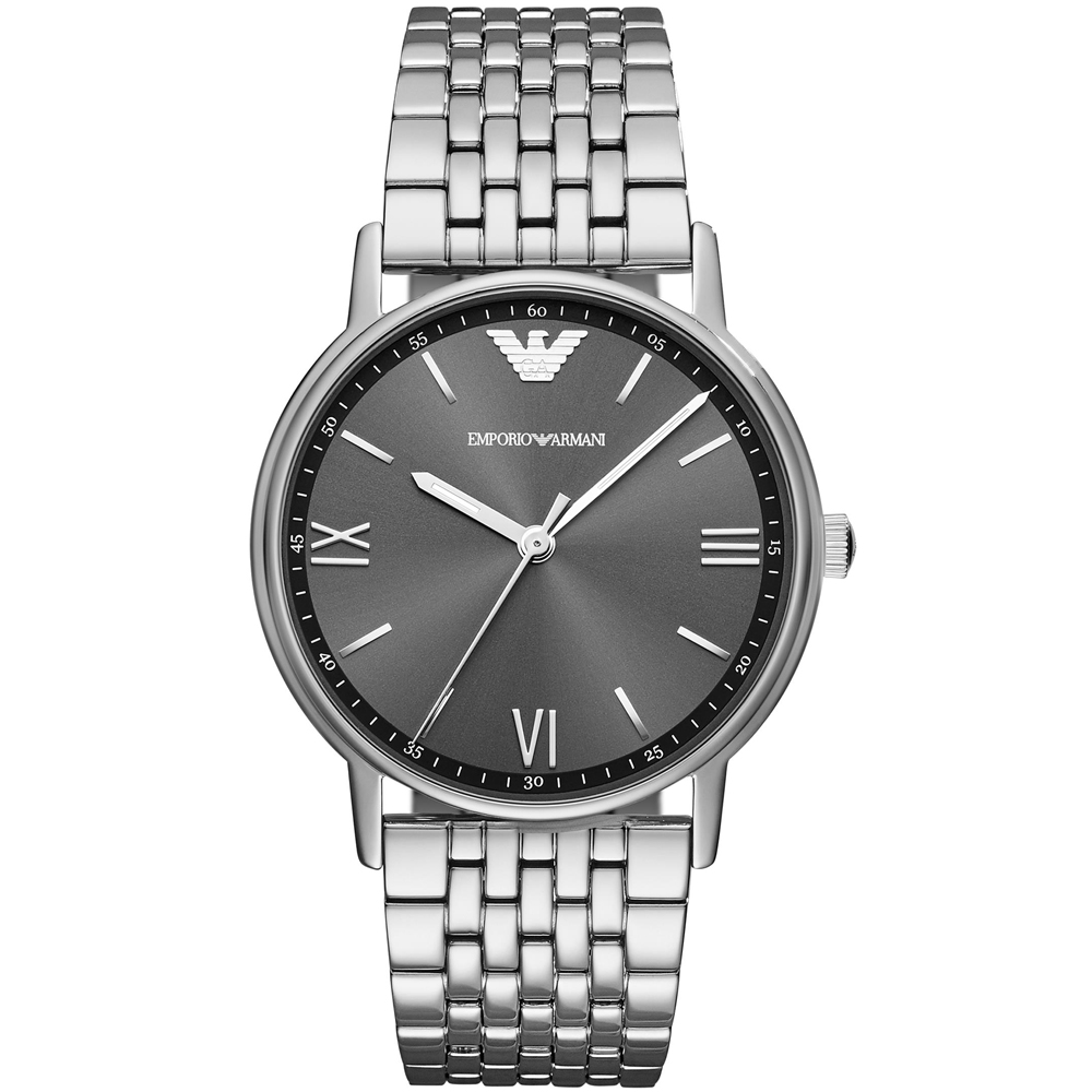 Emporio Armani 銀爵極品時尚腕錶-41mm