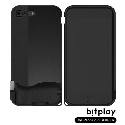 bitplay SNAP!8 iPhone7/8+(5.5吋)專用一秒變單眼相機殼 髮絲黑