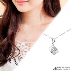 維克維娜 框不住的愛 輕盈閃耀 925純銀項鍊