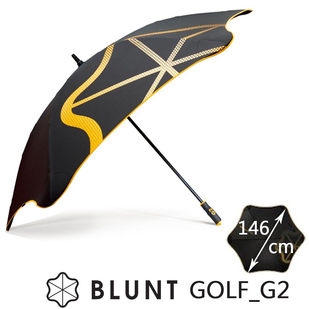 紐西蘭BLUNT 保蘭特 抗強風  抗UV 高爾夫球傘 大號 Golf _G2 (糖果黃)