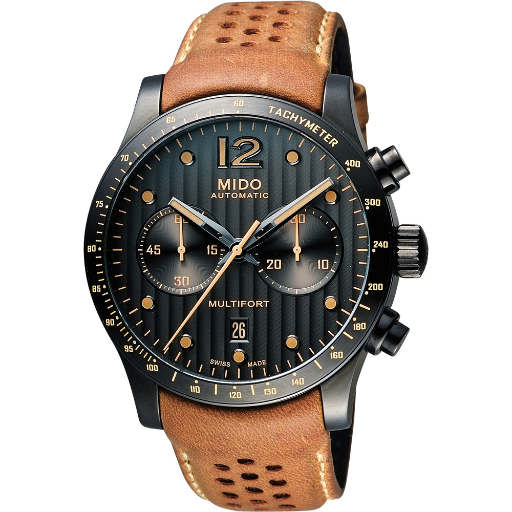 MIDO 美度 Multifort Adventure 先鋒系列探險計時腕錶 M0256273606110
