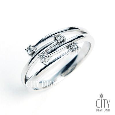 City Diamond『琴之譜』鑽戒