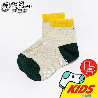 蒂巴蕾KIDS直角1 2襪-棉花糖星空