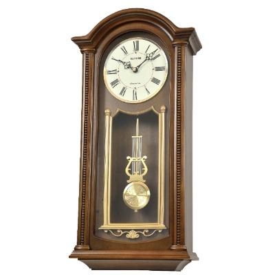 RHYTHM 日本麗聲 復古典藏 音樂鐘(4MJ561NR06)30X61cm