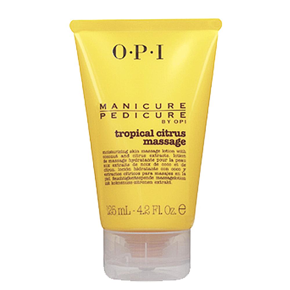 OPI PEDICURE BY OPI.熱帶柑橘舒緩按摩乳125mL(PC434)