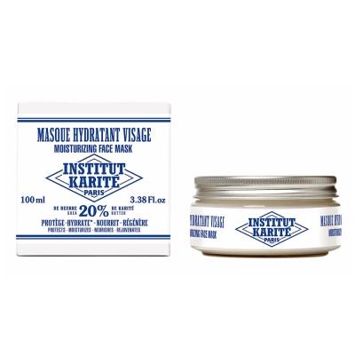 Institut Karite Paris巴黎乳油木乳霜面膜100ml 附日霜體驗包