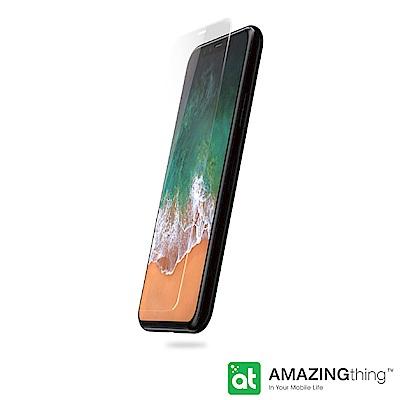 AMAZINGthing Apple iPhone X 弧邊鋼化玻璃保護貼套組