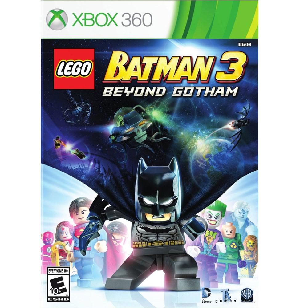 樂高蝙蝠俠3:飛越高譚市LEGO Batman 3-XBOX360英文美版