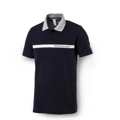 PUMA - 男性 BMW系列短袖POLO衫-車隊藍