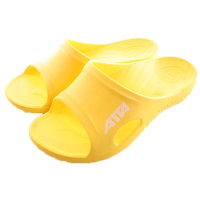 成人減壓足弓運動風拖鞋 黃 sd0161 魔法Baby