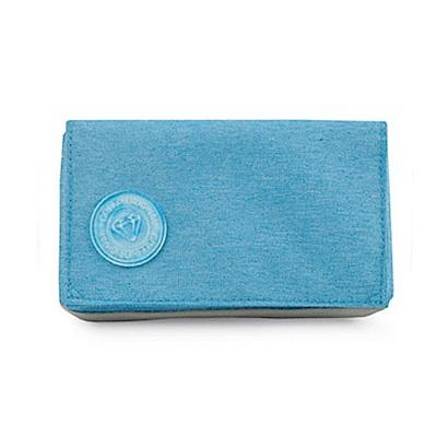 GOLLA手機皮夾-橫海洋-藍