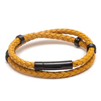 ZENGER  經典時尚皮繩系列-黃