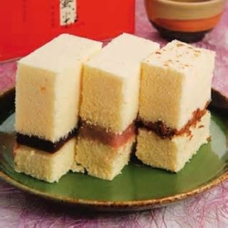 新竹城隍麵 淵明餅舖 水蒸蛋糕任選3口味