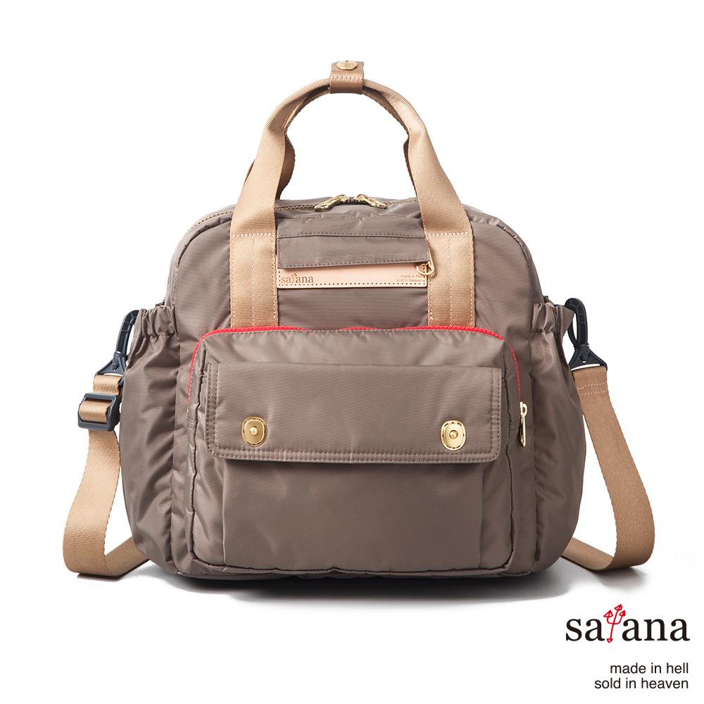 satana - 多功能後背包 - 亮棕色