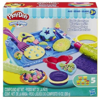 培樂多Play-Doh 創意DIY黏土餅乾工坊遊戲組 B0307