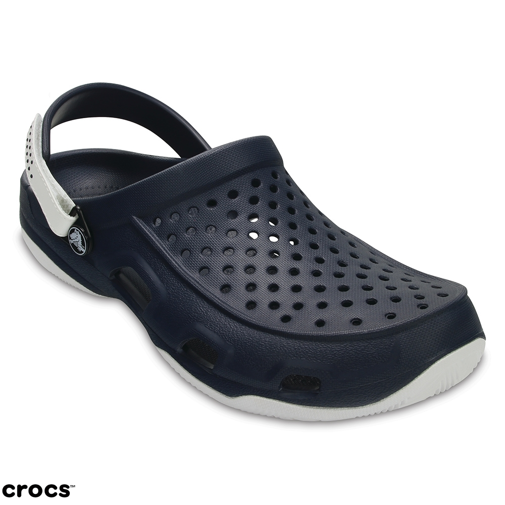 Crocs 卡駱馳 (男鞋) 激浪男士克駱格 203981-462