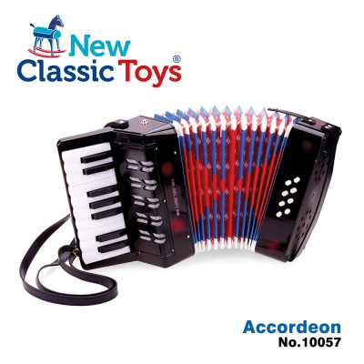荷蘭New Classic Toys 幼兒鍵盤式手風琴玩具