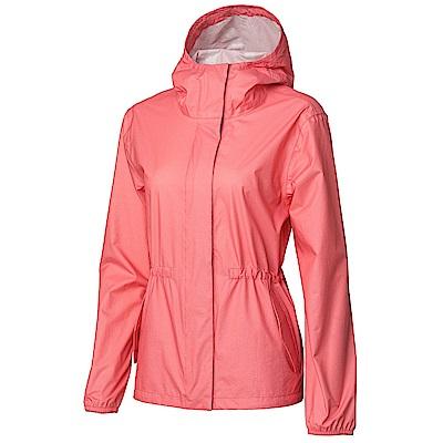 【HAKERS】女- 2 . 5 L時尚休旅外套-珊瑚紅