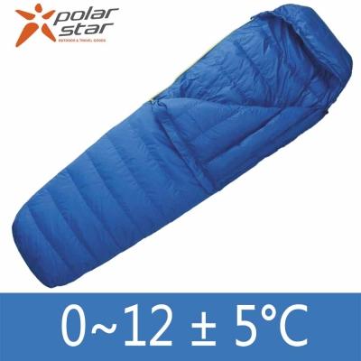 【PolarStar】台灣製 70/30 超輕羽絨睡袋 絨重600g(藍 P13734)