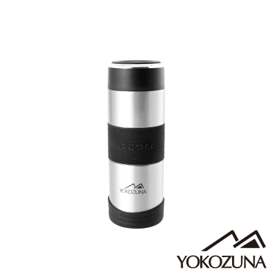 YOKOZUNA  316 不鏽鋼活力保溫杯 350 ML(不鏽鋼色)